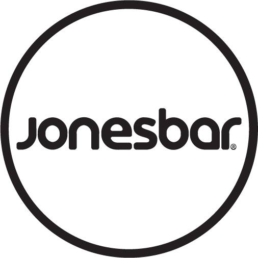 Jonesbar black and white logo