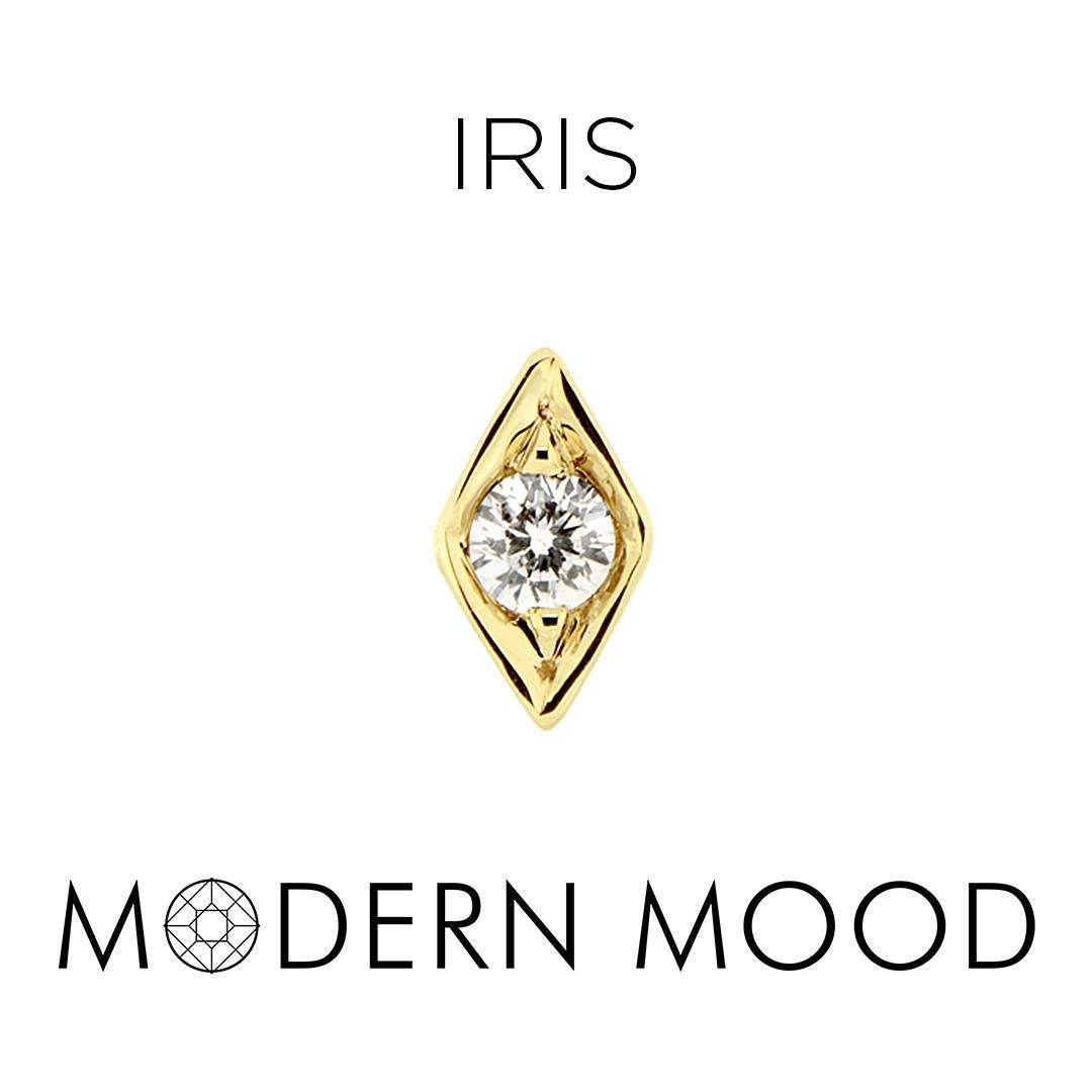 iris diamond piercing jewelry