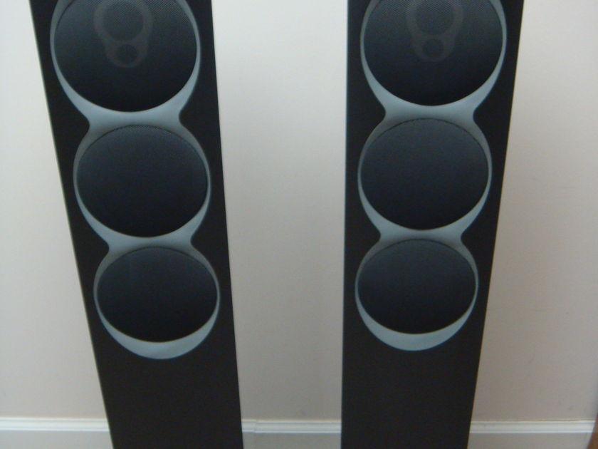 Linn Komponent 110  Full range speakers,  Graphite  finish