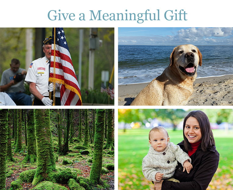 Donate to support veterans. Give it as a gift.