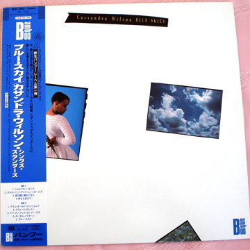 BLUE SKIES Original Japan Pressing Never Played!