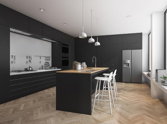 Cuisine minimaliste 8 conseils pour optimiser l 39 espace - Optimiser espace cuisine ...