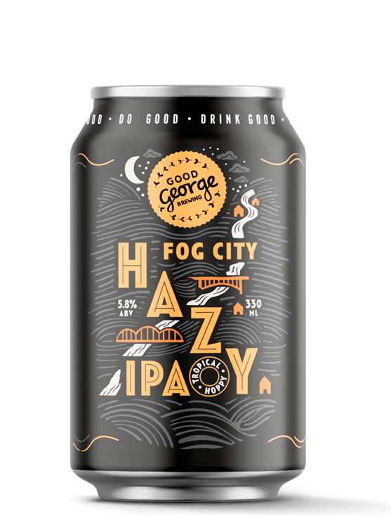 Good George Fog City Hazy IPA Can