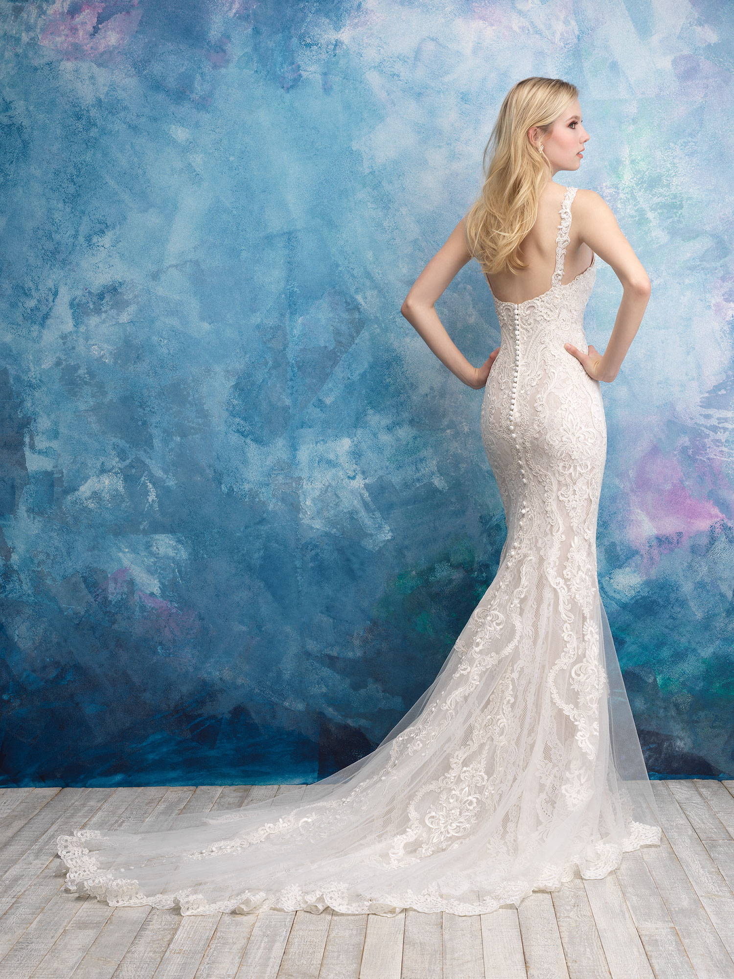 ALLURE  WEDDING DRESS 9571