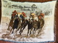 The Brown Hotel Thoroughbred Throw