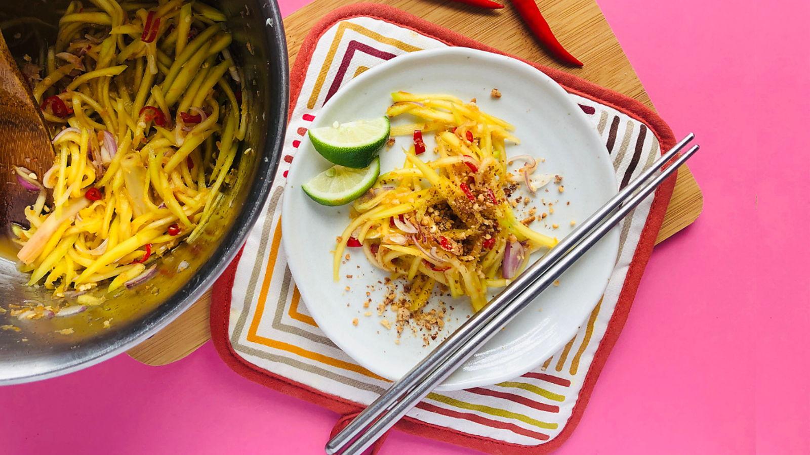Kerabu Mangga (Simple Mango Salad)