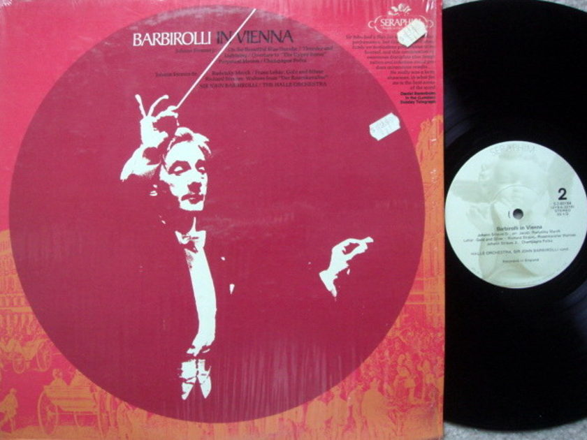 EMI Angel Seraphim / BARBIROLLI, - In Vienna, MINT!