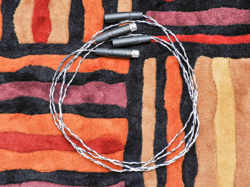 Kimber Kable Silver Streak 0.75m XLR Interconnect Cables