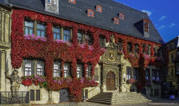Кведлинбург — город Генриха Птицелова и горы Харц