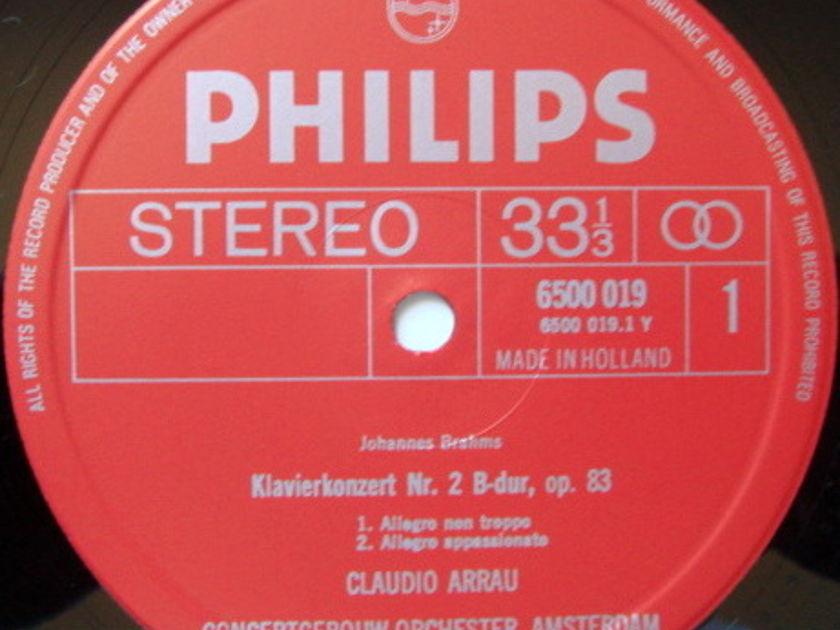 Philips / ARRAU-HAITINK, - Brahms Piano Concertos No.1 & 2, MINT, 2LP Box Set!