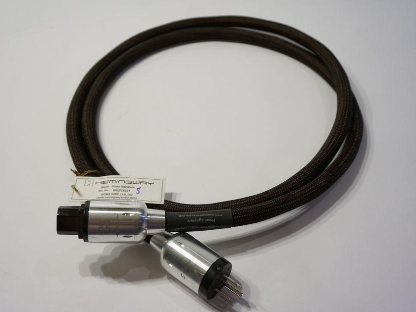Hemingway Prime Signature 2m Power Cord