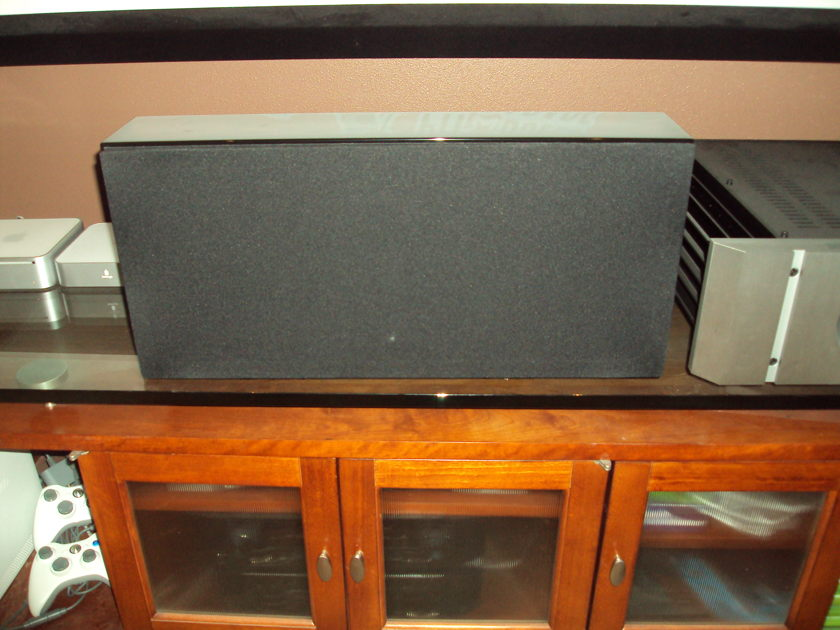 Verity Audio h2 Center Channel Speaker Gloss Black Like New