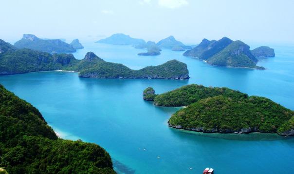 Национальный парк Анг Тонг на скоростной лодке