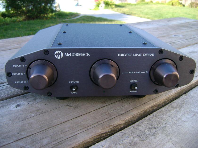 McCormack Micro Line Drive Preamplifier