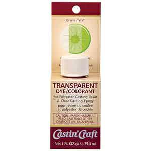 Green Glow Resin Dye