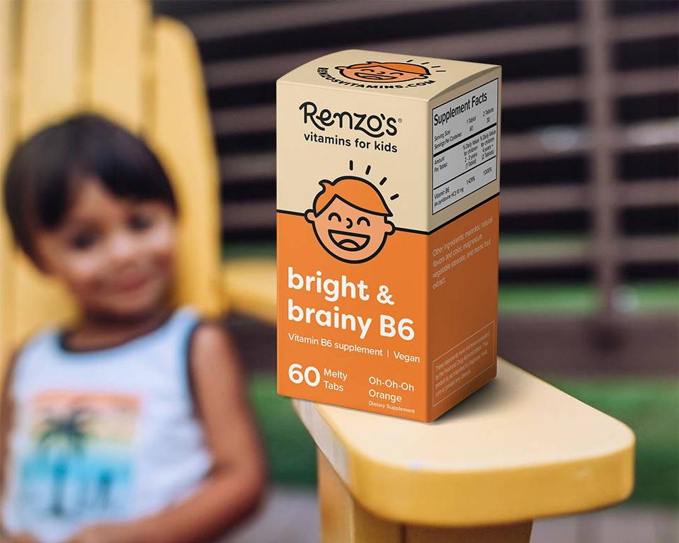 Renzos bright and brainy B6 box
