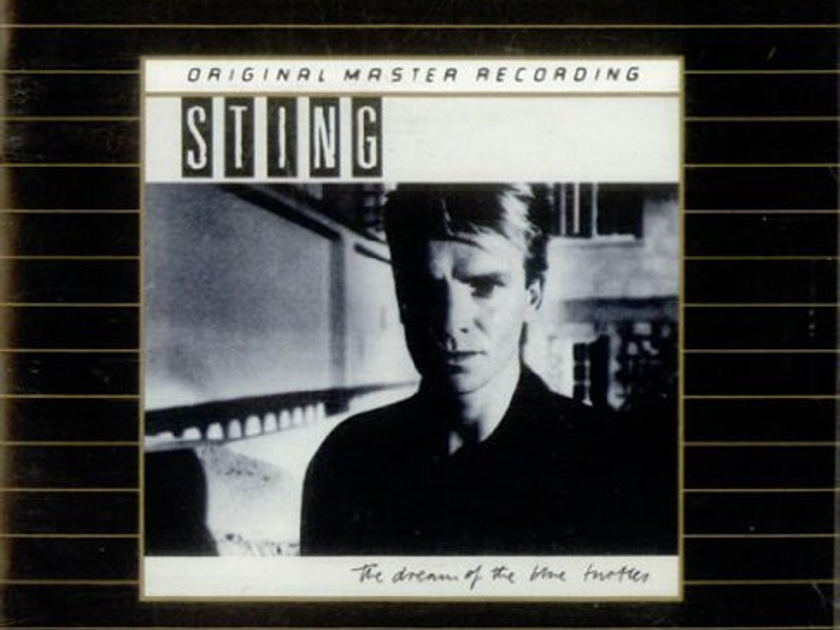 "STING - ""Dream of The Blue Turtles"" - MFSL GOLD CD - Mobile Fidelity Sound Labs Ultradisc II - USA UDCD 528"