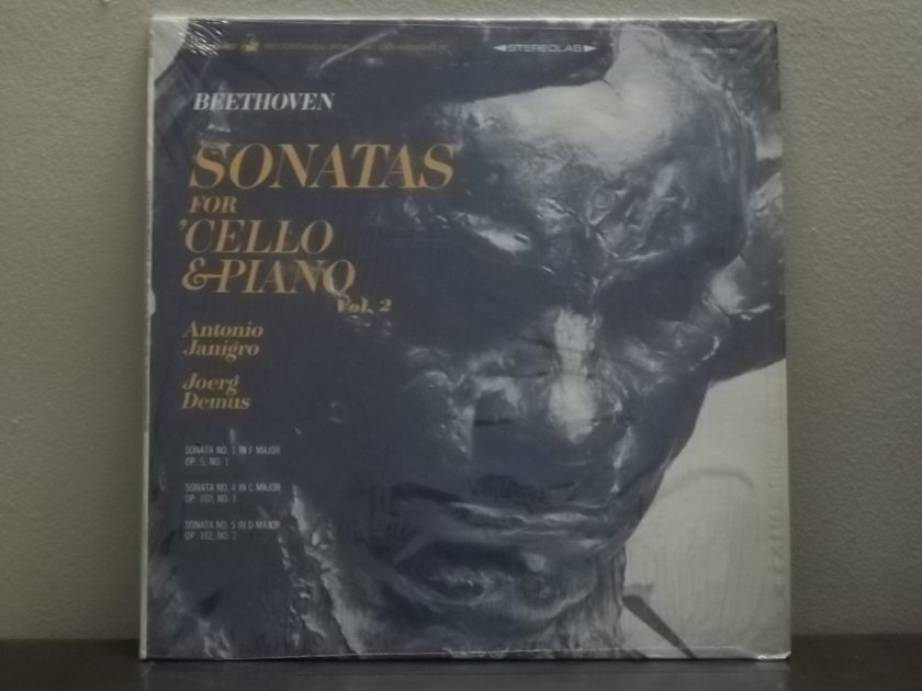 Antonio Janigro Beethoven Sonatas -  for Cello & Piano Vanguard