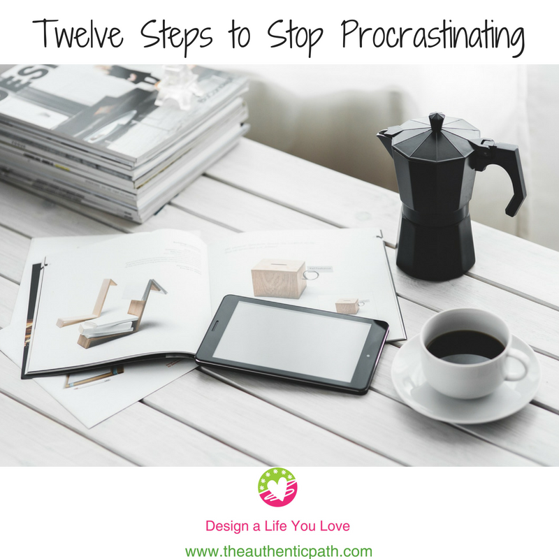 Twelve Steps to Stop Procrastinating.png