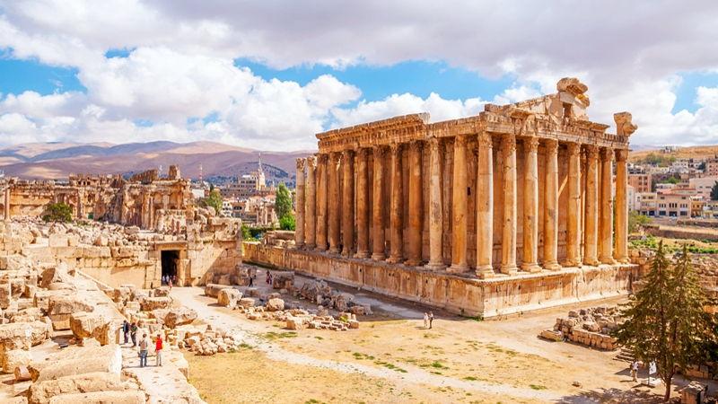 Ruins of Baalbek, Lebanon