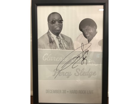 532 Clarence Carter/Percy Sledge Autographed Print