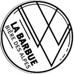 logo bière Barbue collaboration zéro déchet