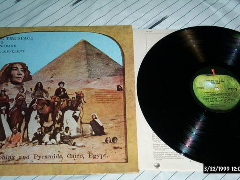 Yoko ono - Feeling The Space apple records lp nm