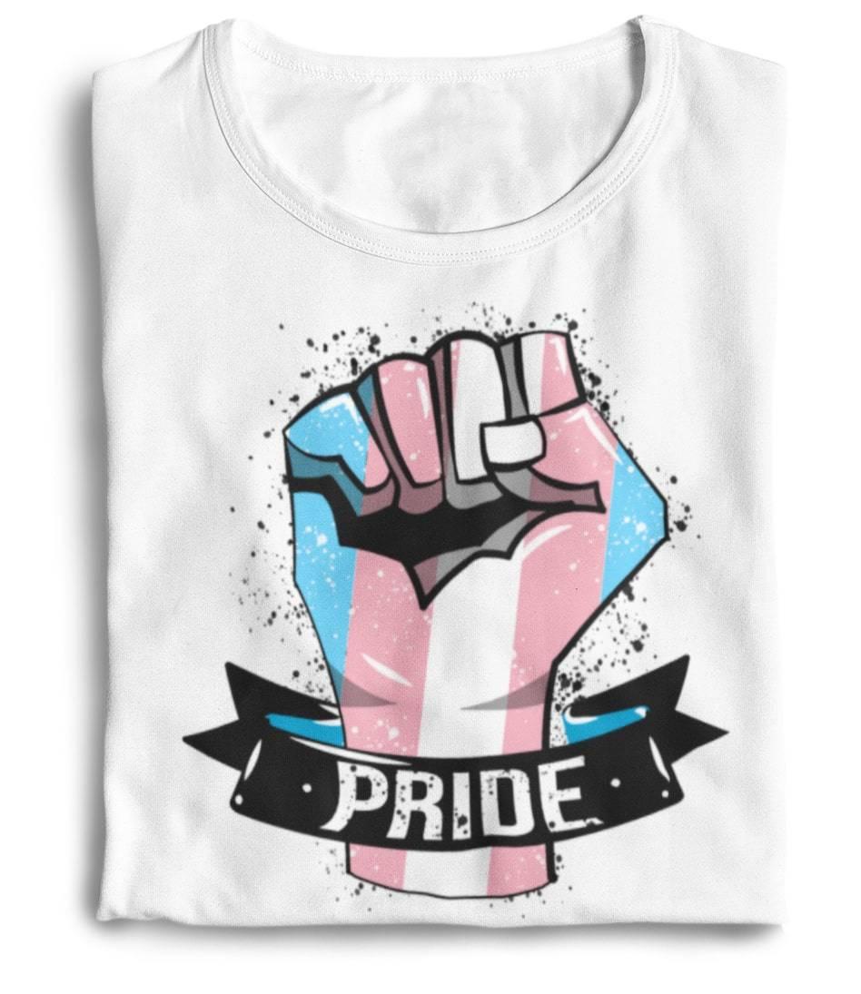 trans flag shirt the rainbow's brand