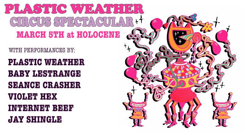 Plastic Weather, Seance Crasher, Internet Beef