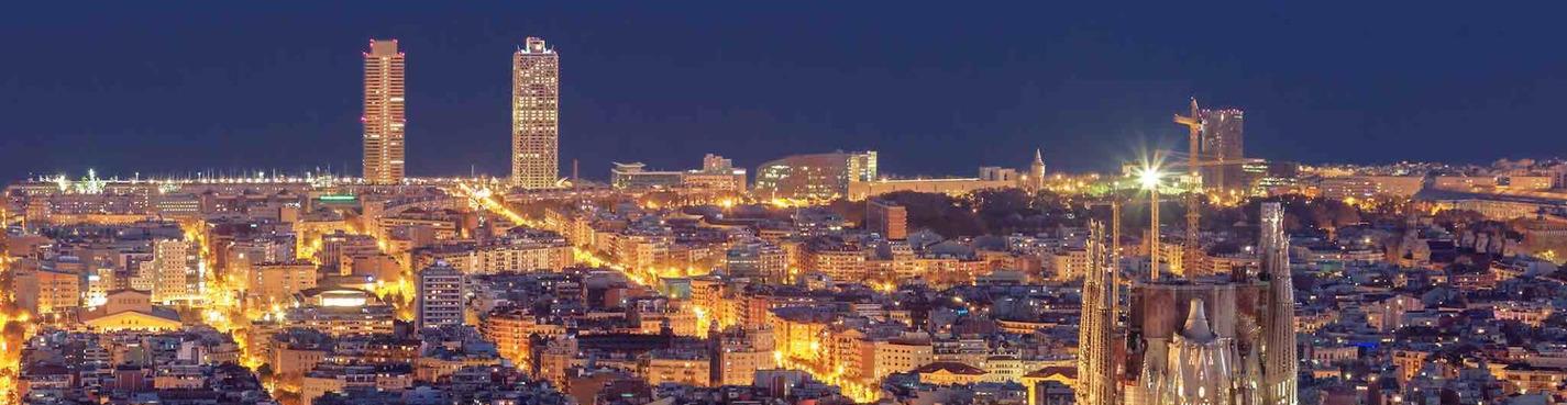Индивидуальная экскурсия по ночной Барселоне
