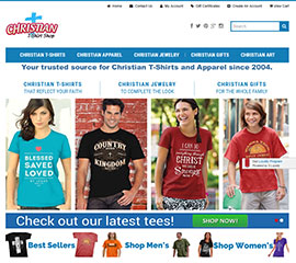 Christian T-shirt Shop