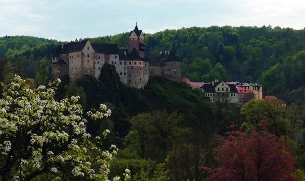 Поездка по Богемии: Карловы Вары и замок Локет