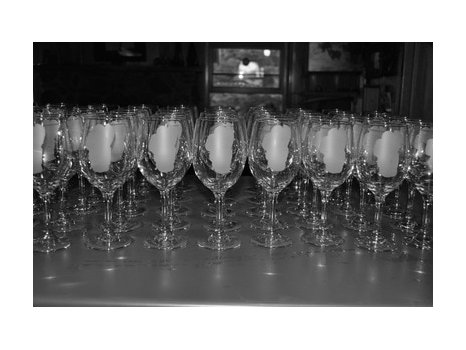 Hand-etched Wine Glasses