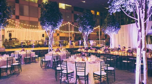 How to Style a Hotel Ballroom Wedding