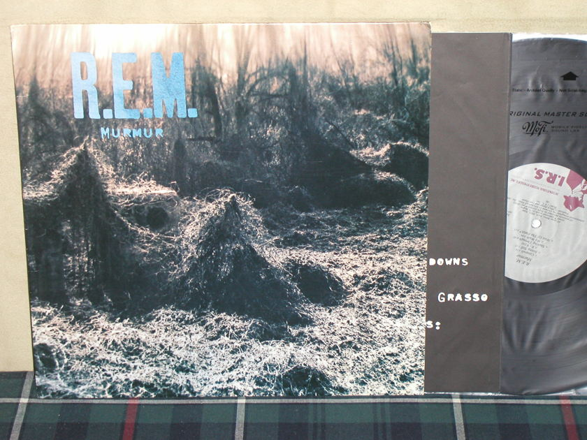 R.E.M. (Rapid Eye Movement) - Murmur   (Promo On QUIEX!) IRS SP70604 (No Barcode)