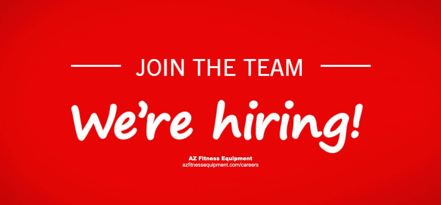 AZ Fitness Equipment - We're hiring, join the team picture