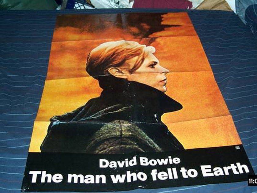 David Bowie - The Man Who Fell to earth original movie poster