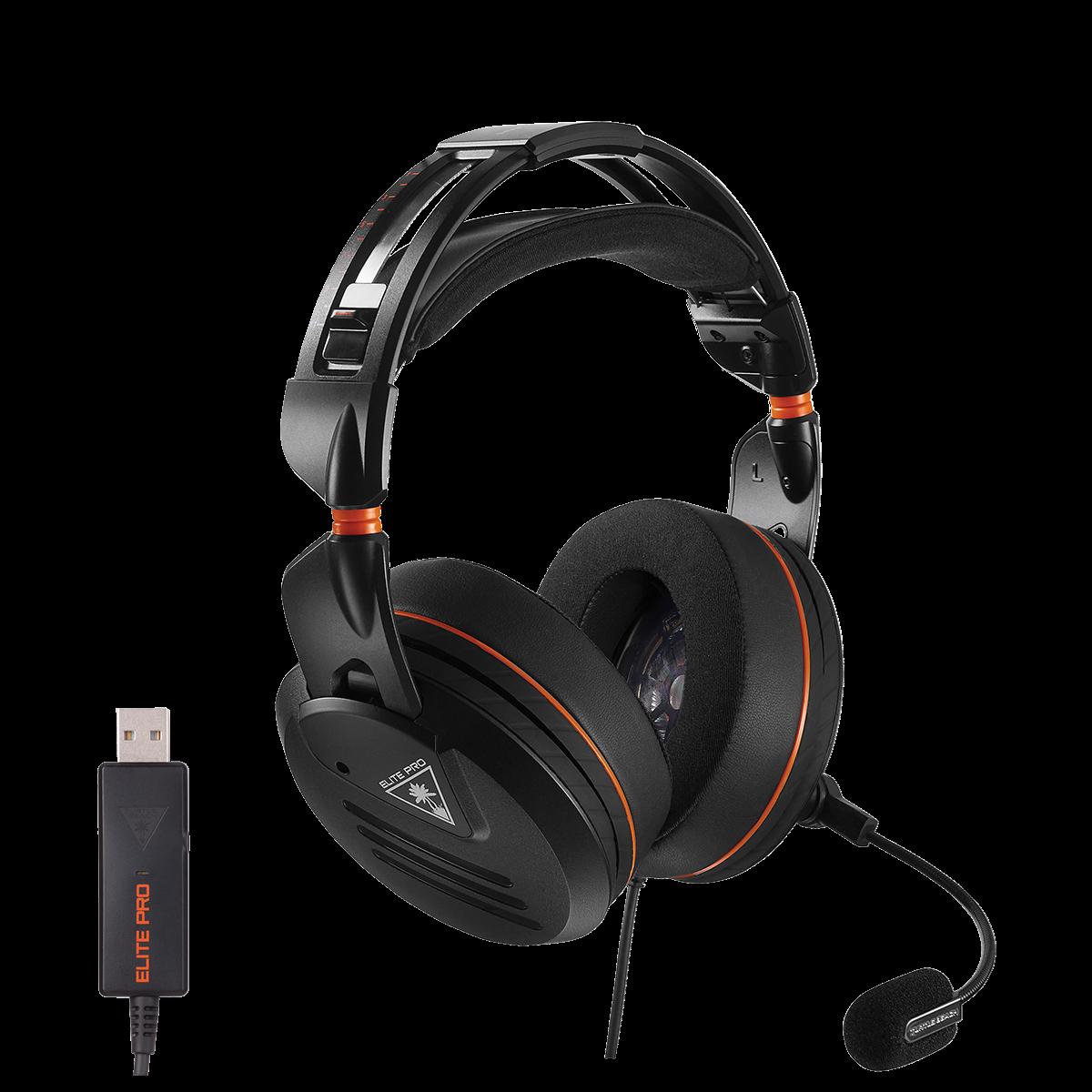 elite pro - surround sound headset - pc edition