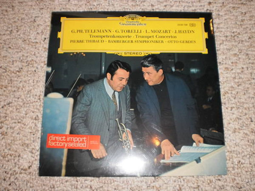 Dgg (Sealed) - 2530 138 trumpet concertos, thibaud