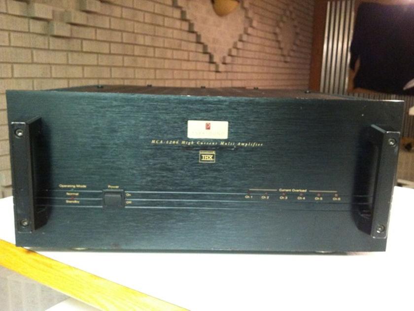Parasound HCA-1206 Six Channel Amp Bridgeable