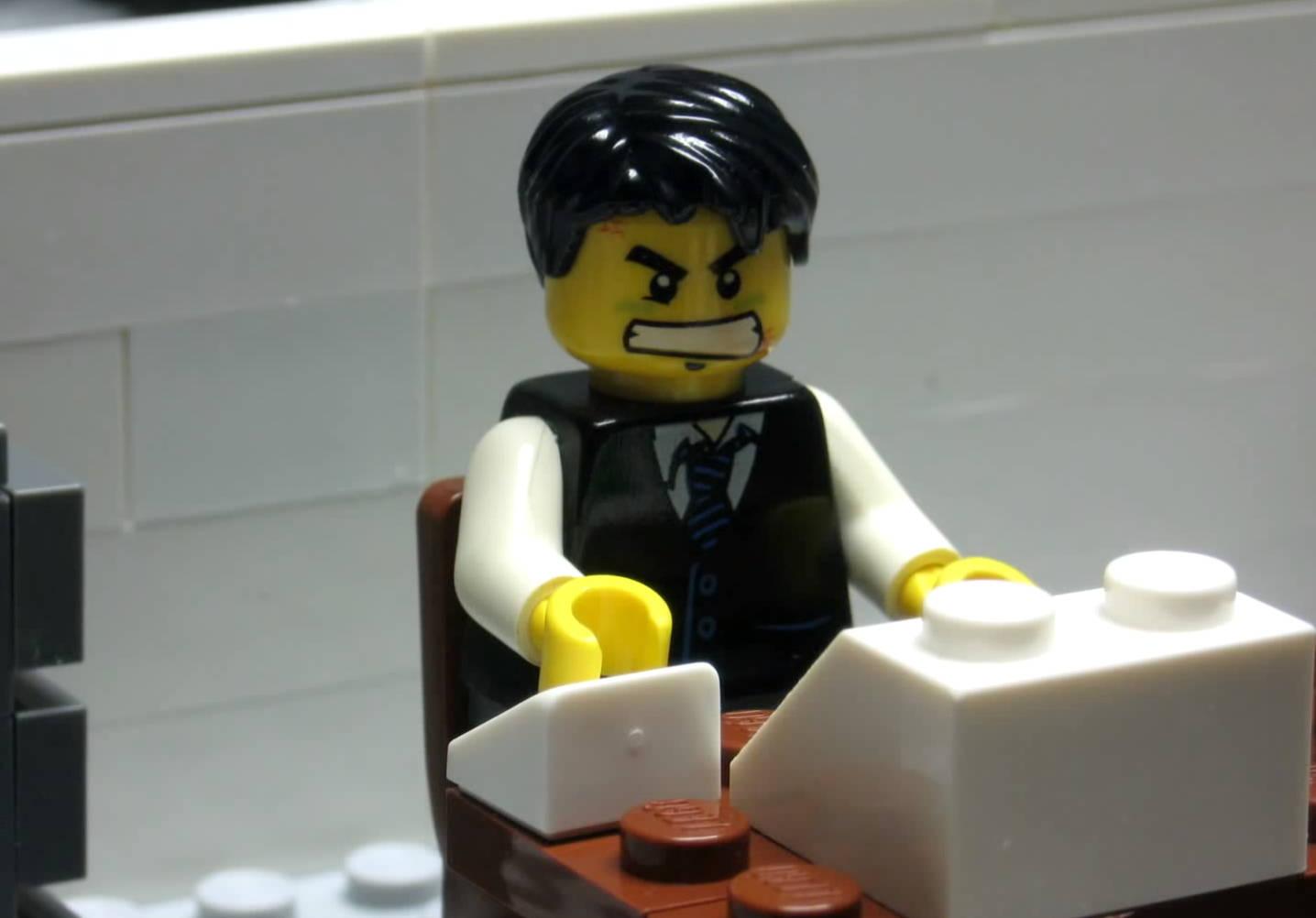 Illegal LEGO Building Techniques