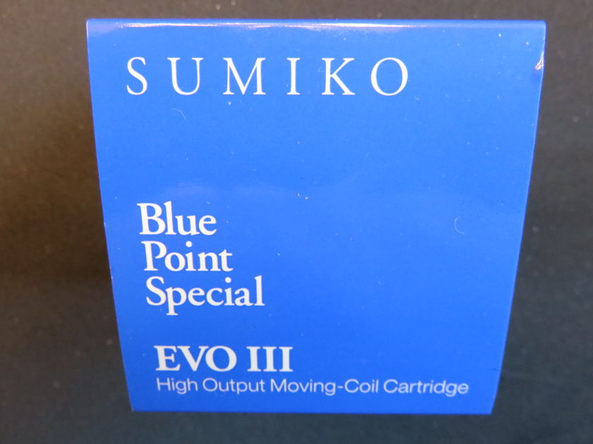 SUMIKO BLUE POINT SPECIAL HIGH-OUTPUT MOVING-COIL NEW!
