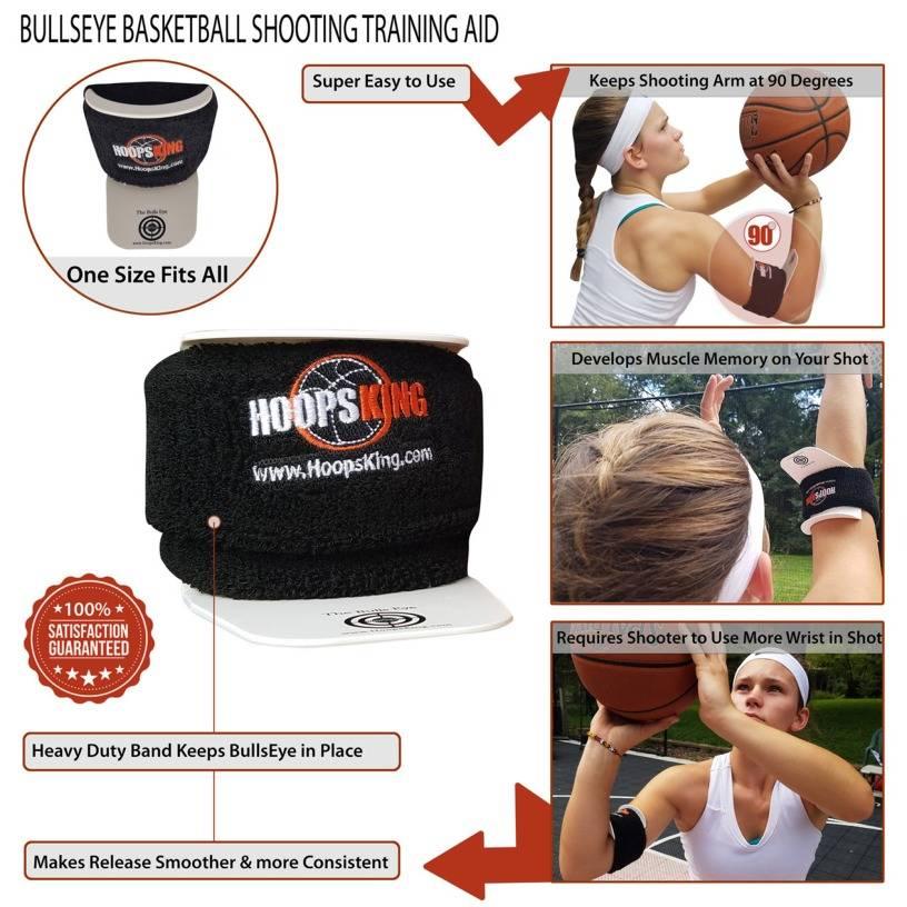 BullsEye Basketball Shooting Training Aid
