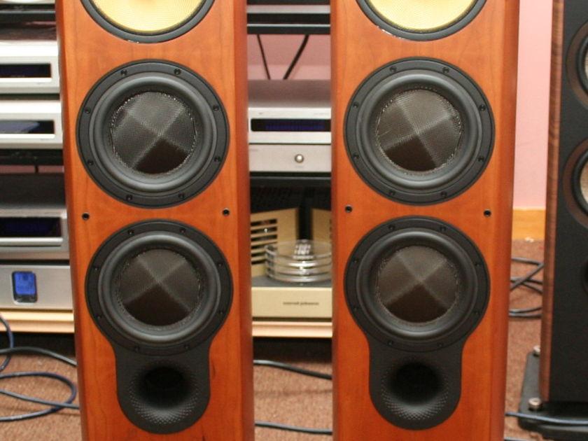 B&W 804S Speakers, Cherrywood