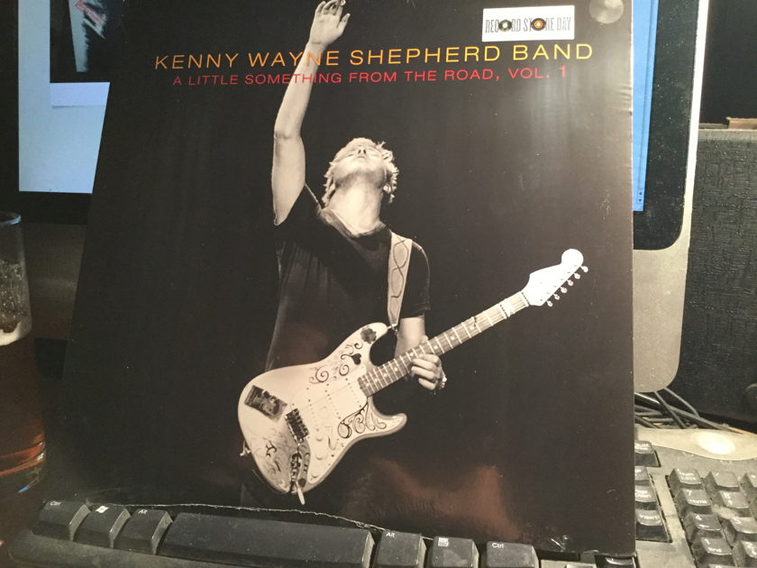 KENNY WAYNE SHEPPART BAND - A LITTLE SOMETHING FROM THE ROAD SEALED