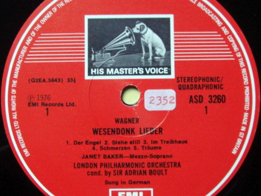 EMI ASD STAMP-DOG / JANET BAKER-BOULT, - Brahms Alto Rhapsody, NM!