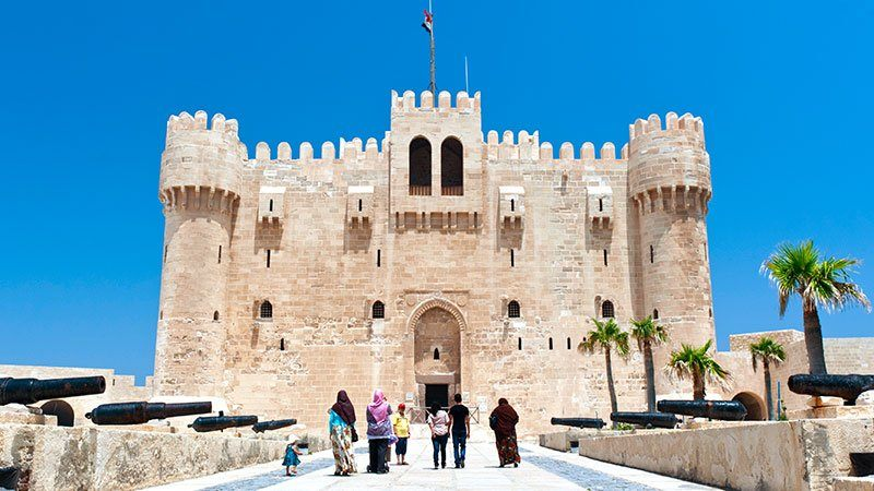 Fort Qaitbey, Alexandria, Egypt