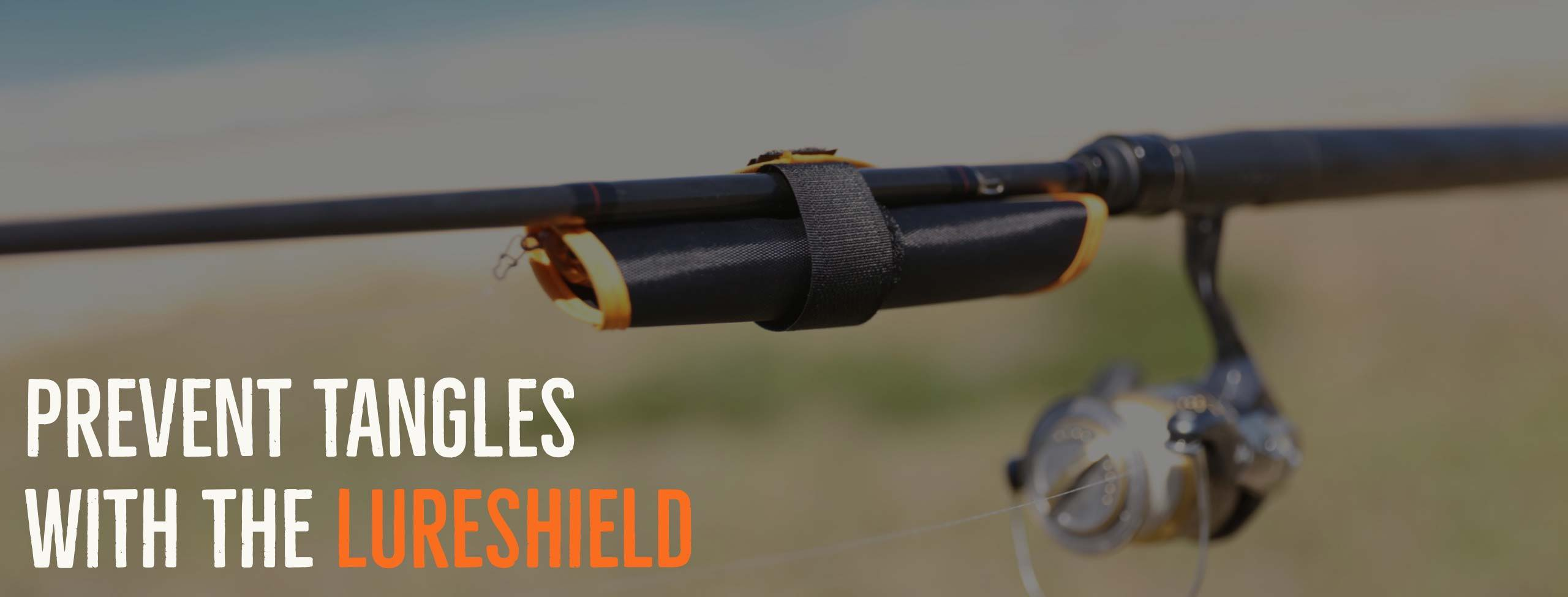 The LureShield by Rod Armour wraps your hooks up and stops hooks from getting caught