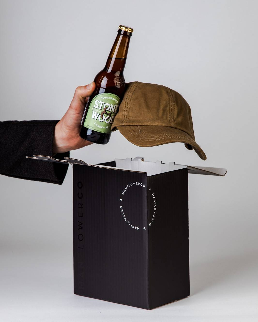 Will & Bear Cap + Beer, part of Manflower Co's range of Father's Day Gifts.