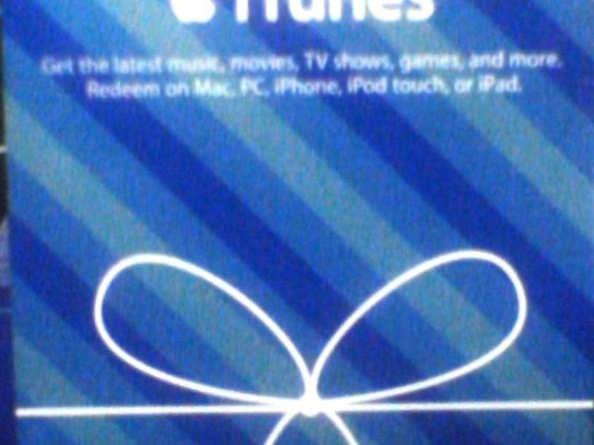 FIFTEEN DOLLARS - $15.00 itunes gift card unused,unscratched..FREE ship